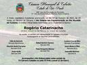 Câmara promove Ato Solene em Homenagem ao Dia Mundial do Turismo