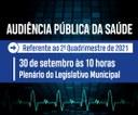 Câmara promove Audiência Pública da Saúde na próxima quinta (30)