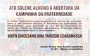 Ato Solene - Campanha da Fraternidade 2020