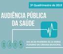 Audiência Pública de Saúde - 3º Quadrimestre 2019