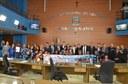 Câmara homenageia campeãs da Copa TV Tribuna de Handebol Escolar