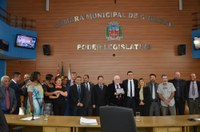 Câmara presta homenagem aos 40 anos da Banda Sinfônica de Cubatão