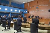 Sessão Ordinária desta terça-feira foi encerrada devido ao falecimento do pai do vereador Sérgio Calçados