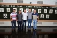 Vereadores se reúnem com deputado federal Flavinho